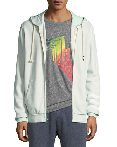 Sol Angeles Men's Sol Essential Zip-Front Hoodie