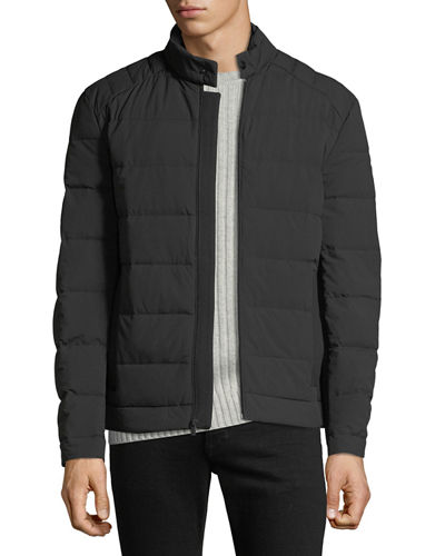 Men's Quilted Stretch Down Fill Jacket