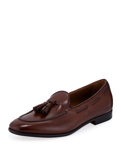 Men's Ali Leather Slip-On Loafers