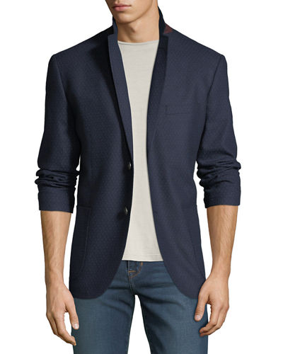 Men's Edgar Geo Weave Sport Coat