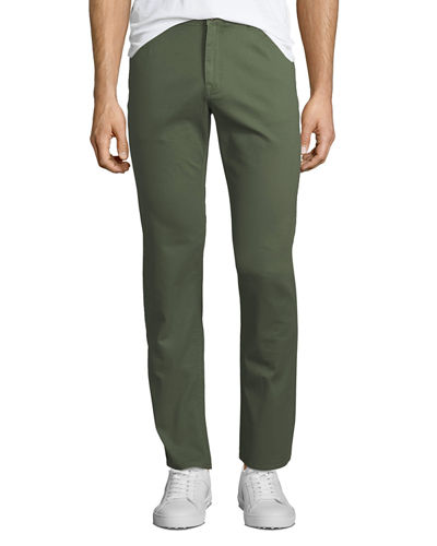 Men's Stretch Twill Five-Pocket Pants