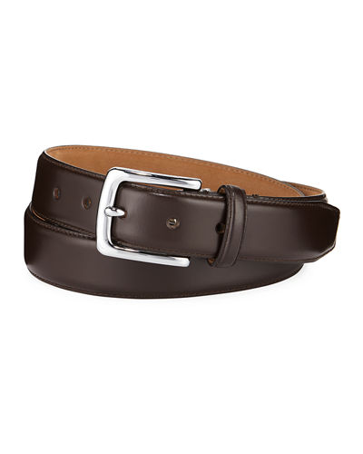 Men's Bonded Leather Dress Belt