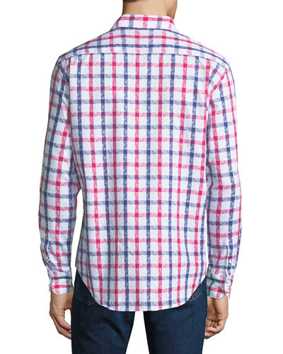 Men's Classic-Fit Dadebrook Plaid Sport Shirt