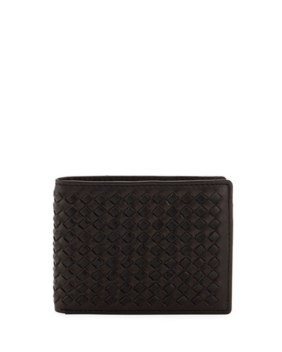 Joe's Men's Basketweave Hipster Bi-Fold Wallet