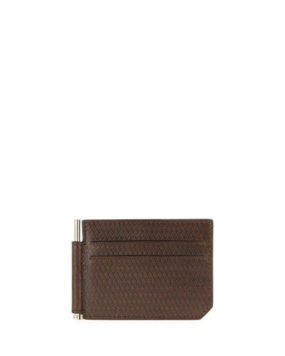 Men's Leather Bill-Clip Wallet