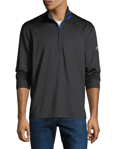 Callaway Men's Mock-Neck Pullover Jacket
