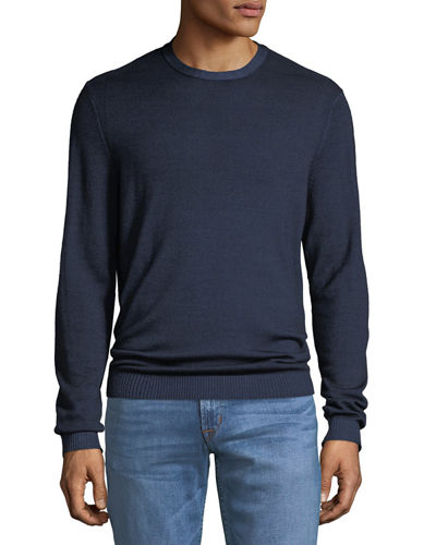 Men's Merino Wool Pullover Sweater