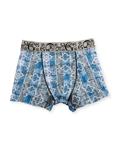 Men's Allover Printed Trunks