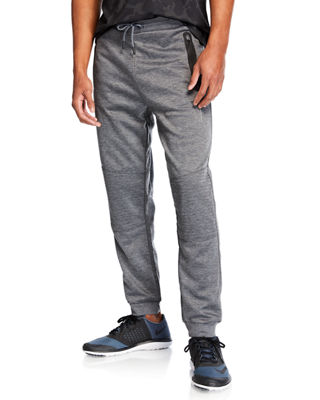 TAHARI SPORT Men'S Moto Lounge Pants in Charcoal