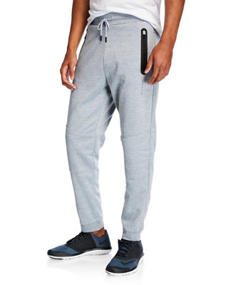 TAHARI SPORT Men'S Moto Lounge Pants in Gray