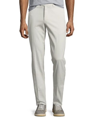 Men's Gabardine Traditional-Fit Pants