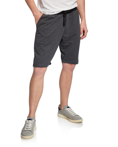 Men's Colorblock Drawstring Shorts