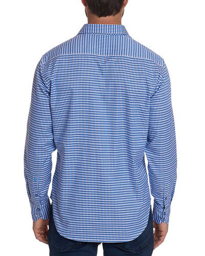 Men's Carey Two-Tone Sport Shirt