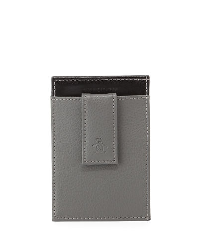 Men's Leather Front Pocket Wallet