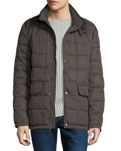 Cole Haan Men's Box-Quilted Down Jacket