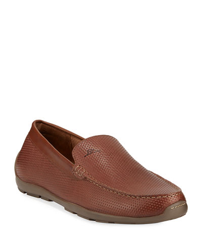 Men's Acanto Leather Slip-On Loafers