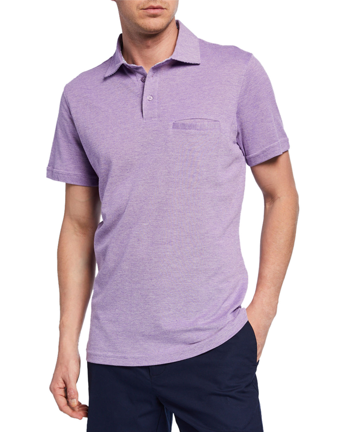 Tailorbyrd T-shirts MEN'S SHORT-SLEEVE POLO SHIRT