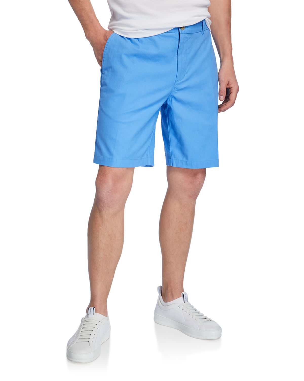 Tailorbyrd Shorts MEN'S FLAT-FRONT SHORTS