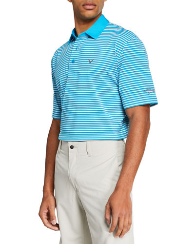 Men's Striped Color Polo Shirt