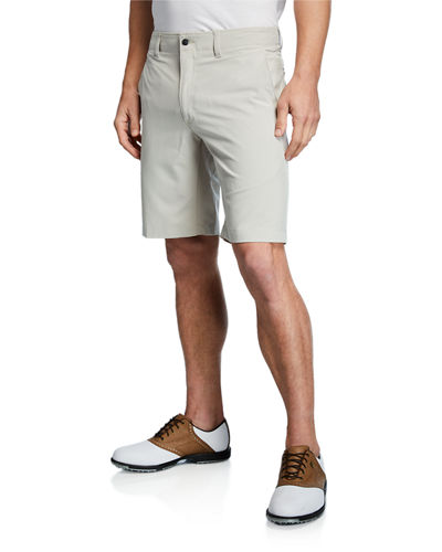 Men's Woven-Stretch Shorts