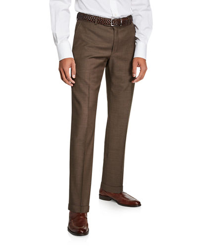 Men's Super 120s Sharkskin Pants