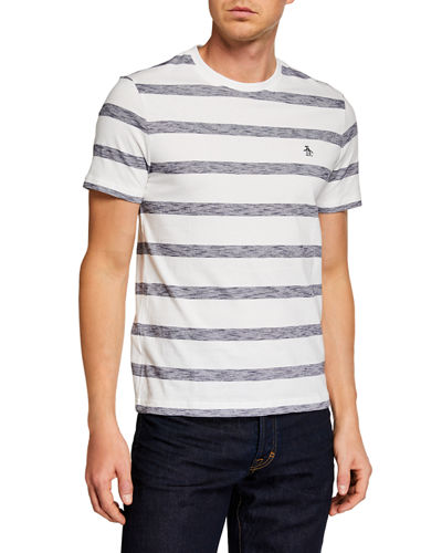 Men's Auto Slub Stripe Polo Shirt