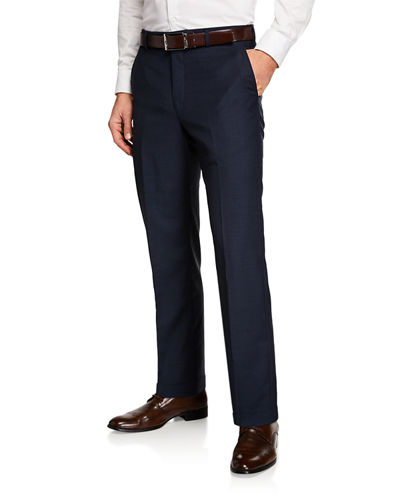 Men's Italian Wool Dress Pants