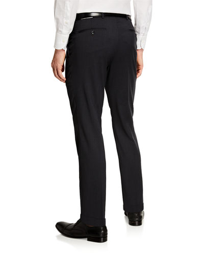 Men's Super 120's Wool Slim Fit Pants
