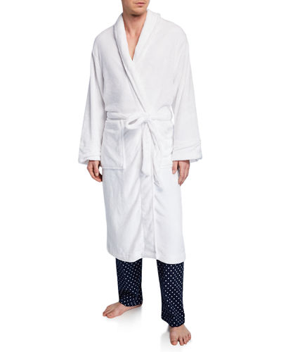 Men's Plush Fleece Robe