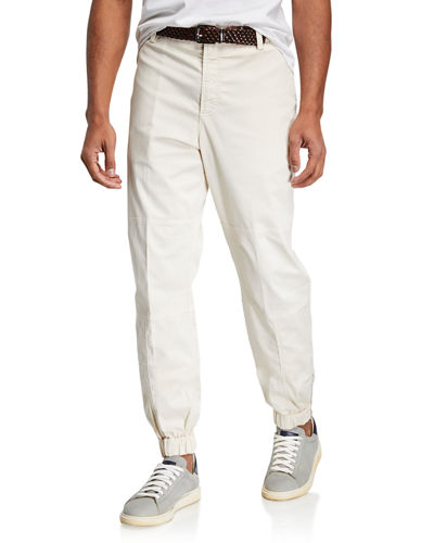 Men's Straight Leg Smooth flat pants