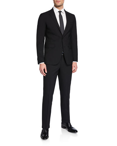 Men's Two-Piece Wool Suit