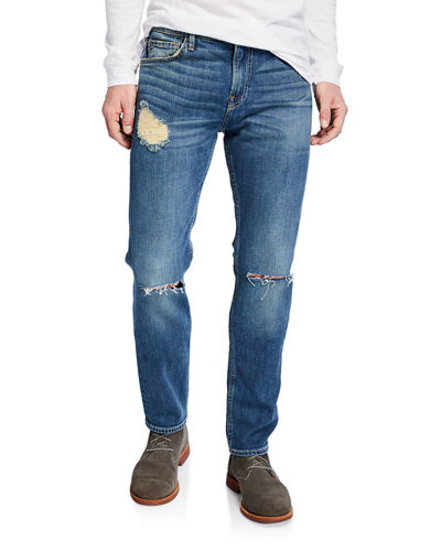 Men's Paxtyn Destroyed Denim Jeans
