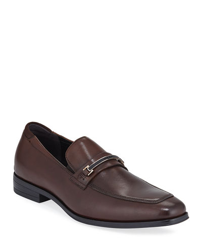 Men's Leroy Leather Bit Loafers
