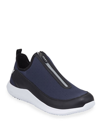 Men's Zip-Up Sock Sneakers