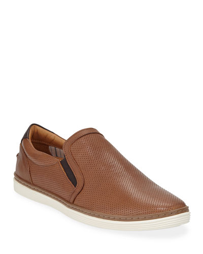 Men's Travis Perforated Slip-On Sneaker