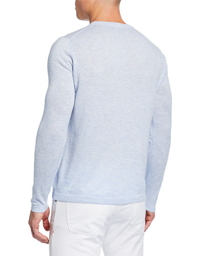Men's Long-Sleeve Pocket Sweater