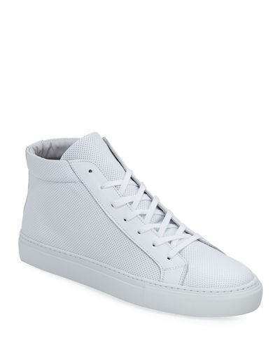 Men's Deacon High-Top Leather Sneakers