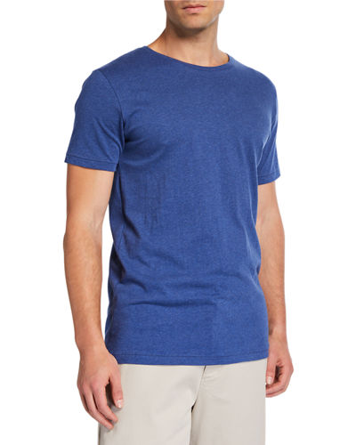 Men's Crewneck Short-Sleeve Cotton T-Shirt