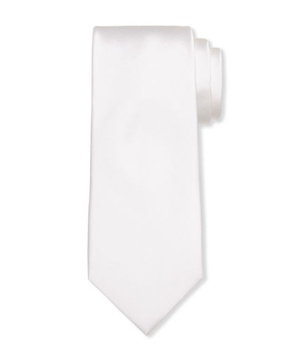 Men's Silk Solid Tie