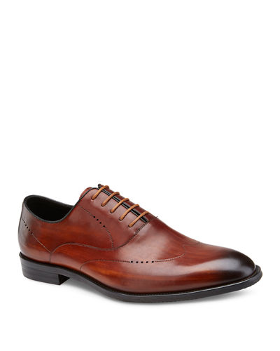 Men's Hahn Lace-Up Leather Oxfords