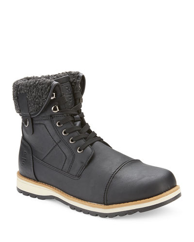 Men's Carswell Faux-Fur Lined Lace-Up Boots