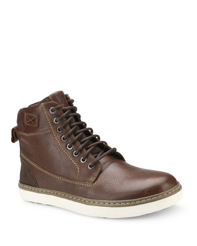 Men's Cromwell Lace-Up Leather Boots