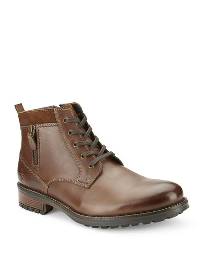 Men's Safford Lace-Up Leather Boots