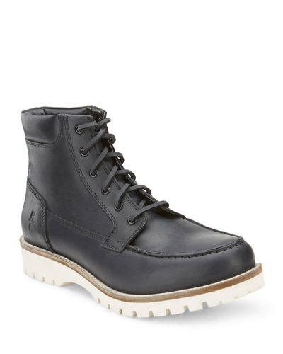 Men's Fynn Lace-Up Leather Boots