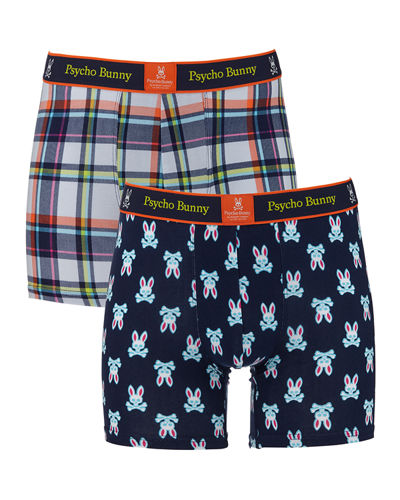 Men's Two-Pack Printed Boxer Brief Gift Set