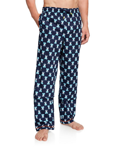 Men's Logo-Print Lounge Pants