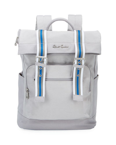 Men's Canvas Flap-Top Backpack