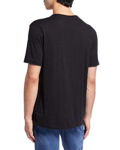 Men's Exposed Seam Crewneck T-Shirt