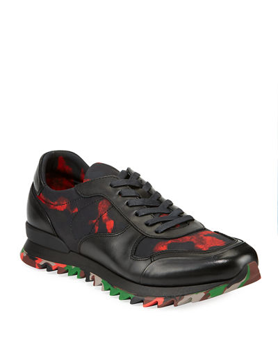Men's Camouflage Mixed Sneakers
