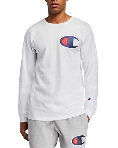 Men's Heritage Long-Sleeve Elevated Graphics T-Shirt
